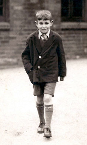 Eric, still at school; mid\late 1930s