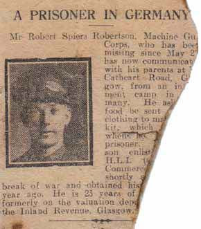 A Prisoner In Germany
